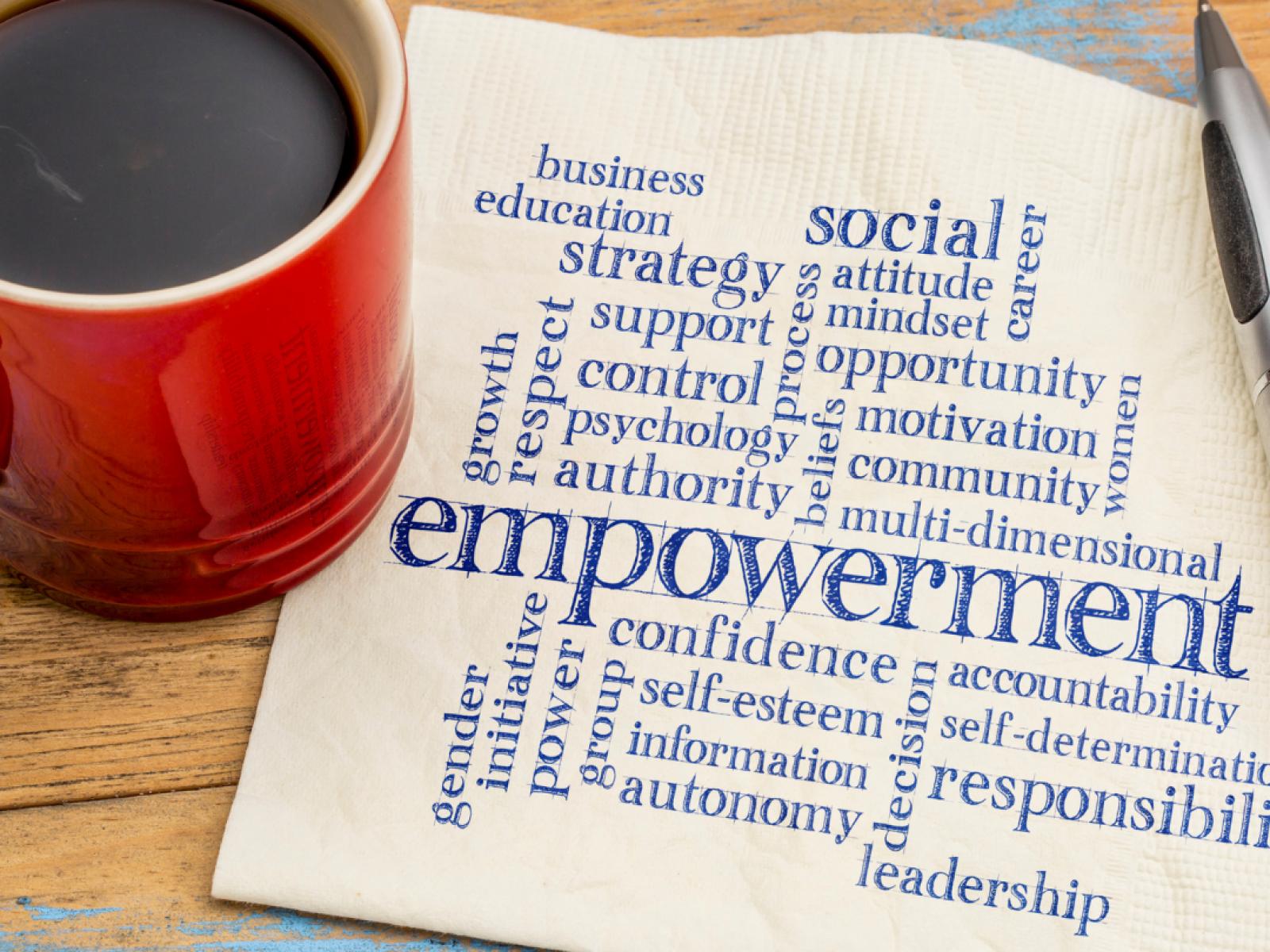 Empowerment graphic